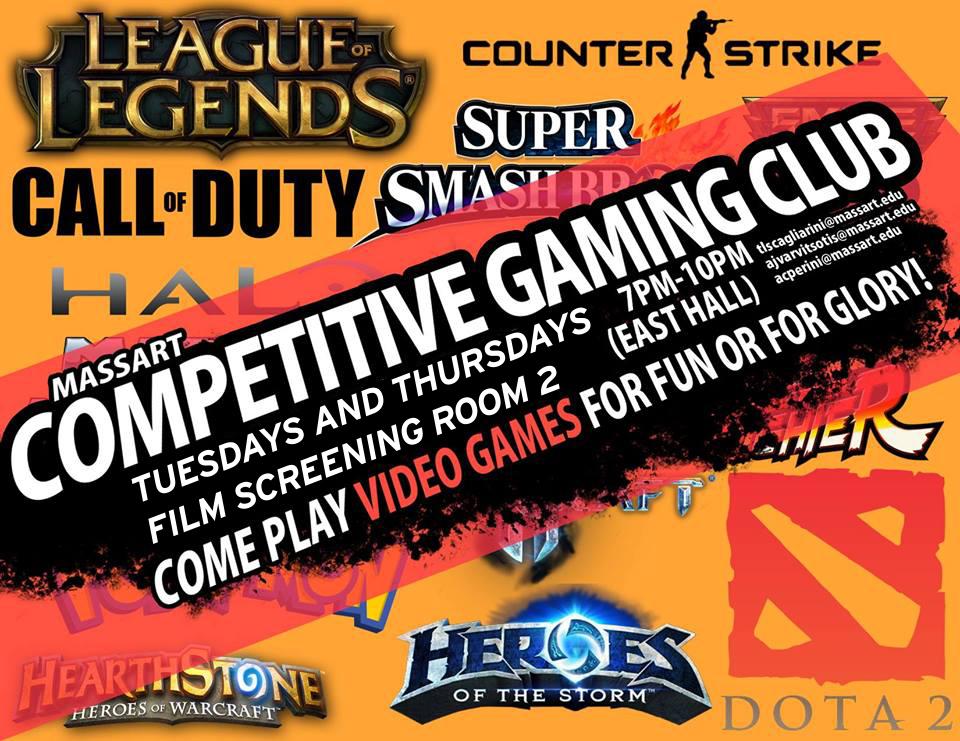 MassArt Gaming Club