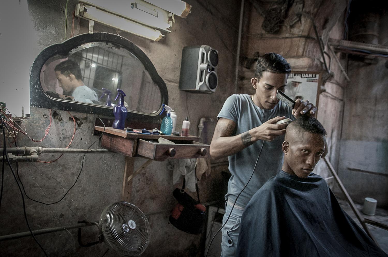 Barber Shop by Susan Cannarella