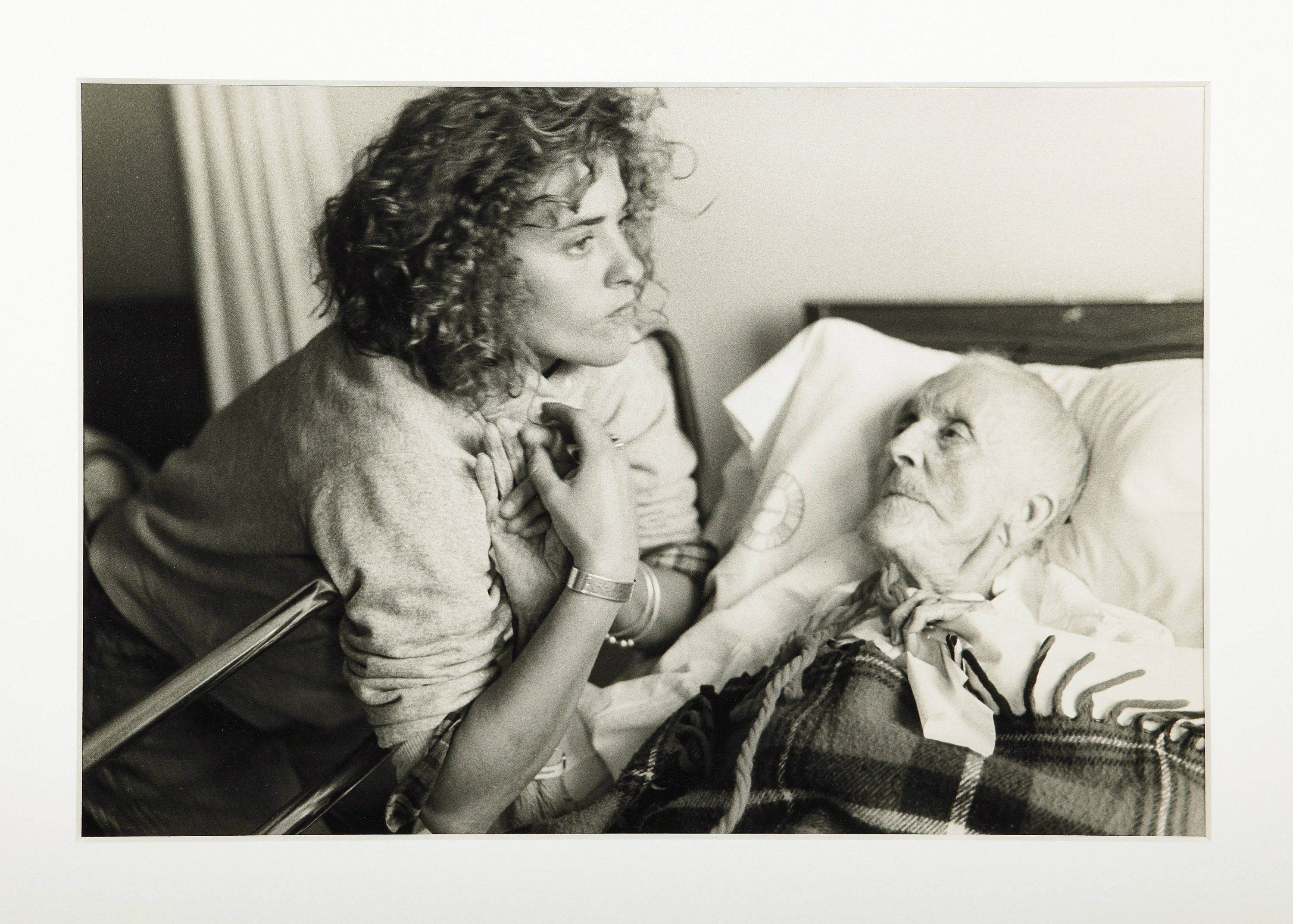 "Nan Goldin, ""Chrissy with her 100-year-old Grandmother, Provincetown,"" 1977. (Courtesy Matthew Marks Gallery, New York)"