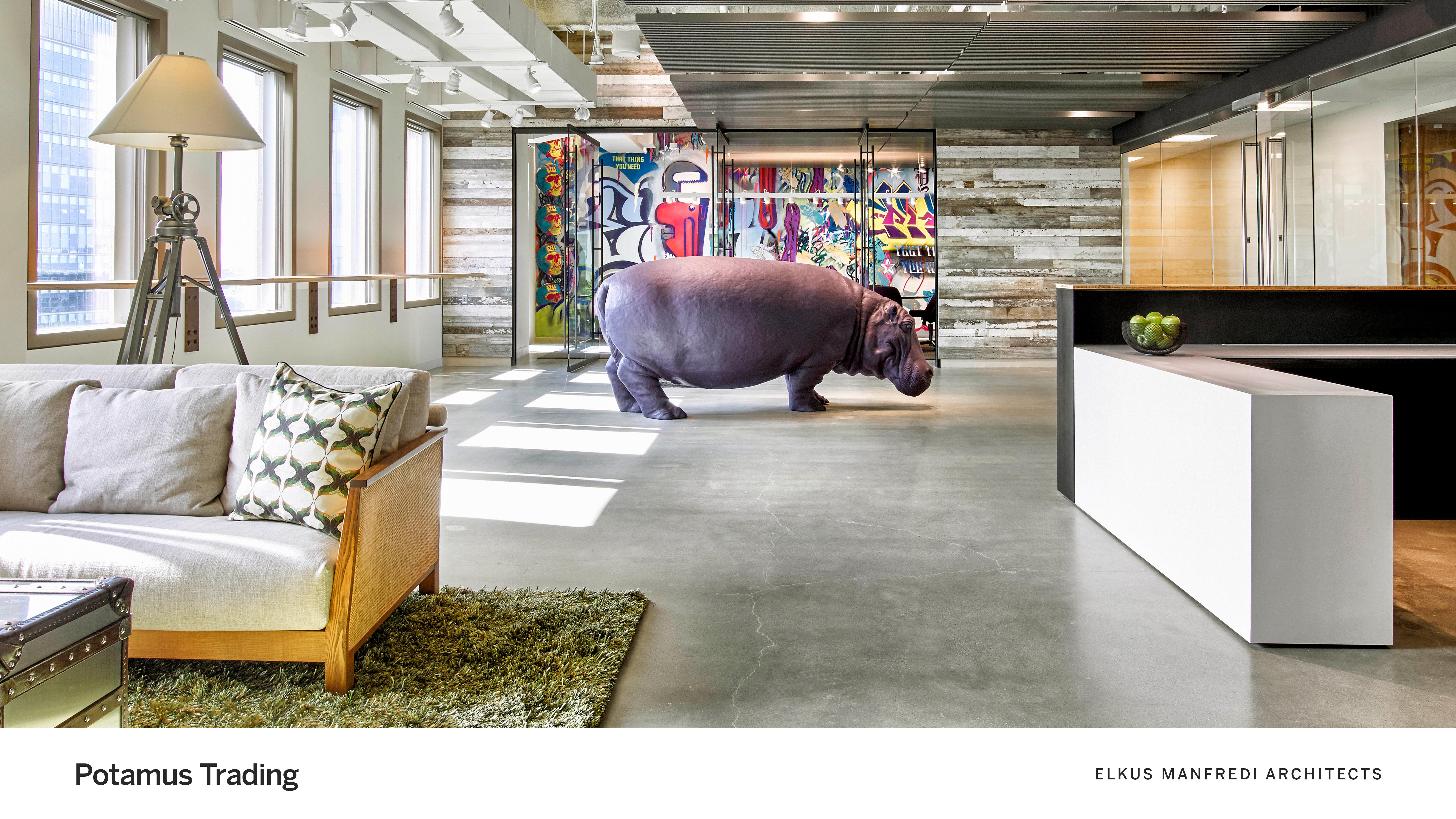 Potamus Trading - Elkus Manfredi Architects