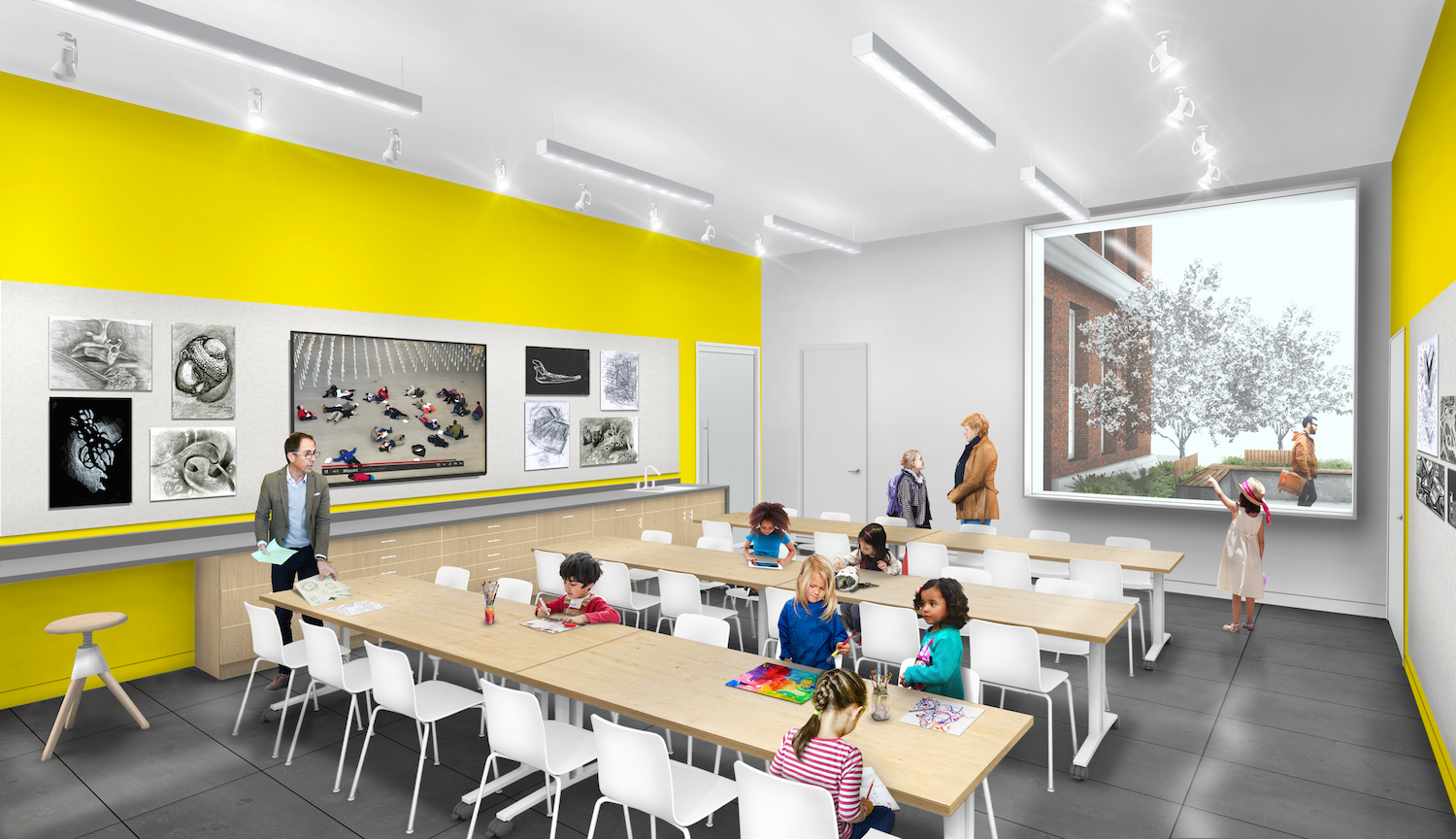 MAAM Gallery Education Rendering