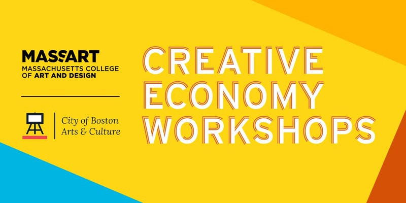 Creative Economy Workshop Posters