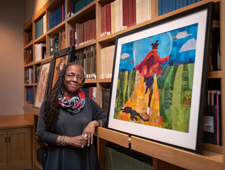 Ekua Holmes at MFA Boston