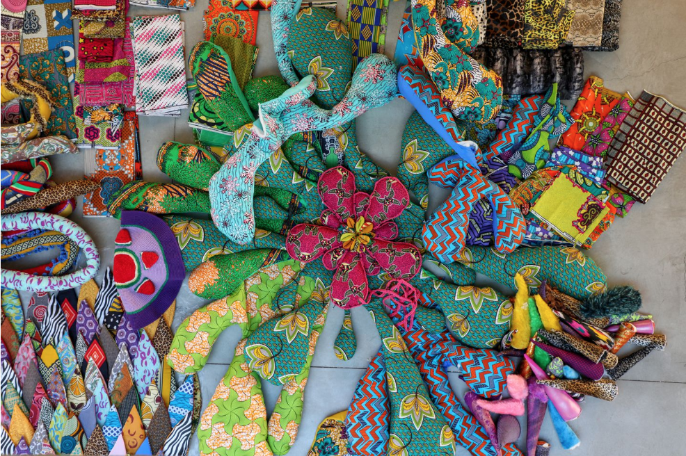 Valkyrie Mumbet materials by Atelier Joana Vasconcelos