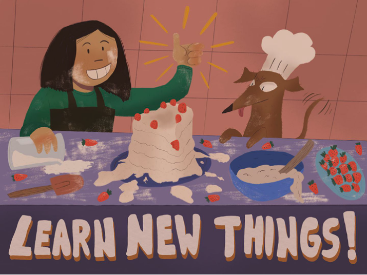 Learn New Things by Vicky Chen