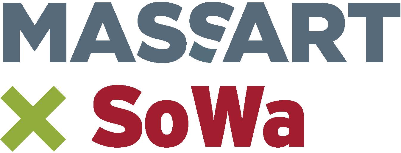 MassArt x SoWa logo