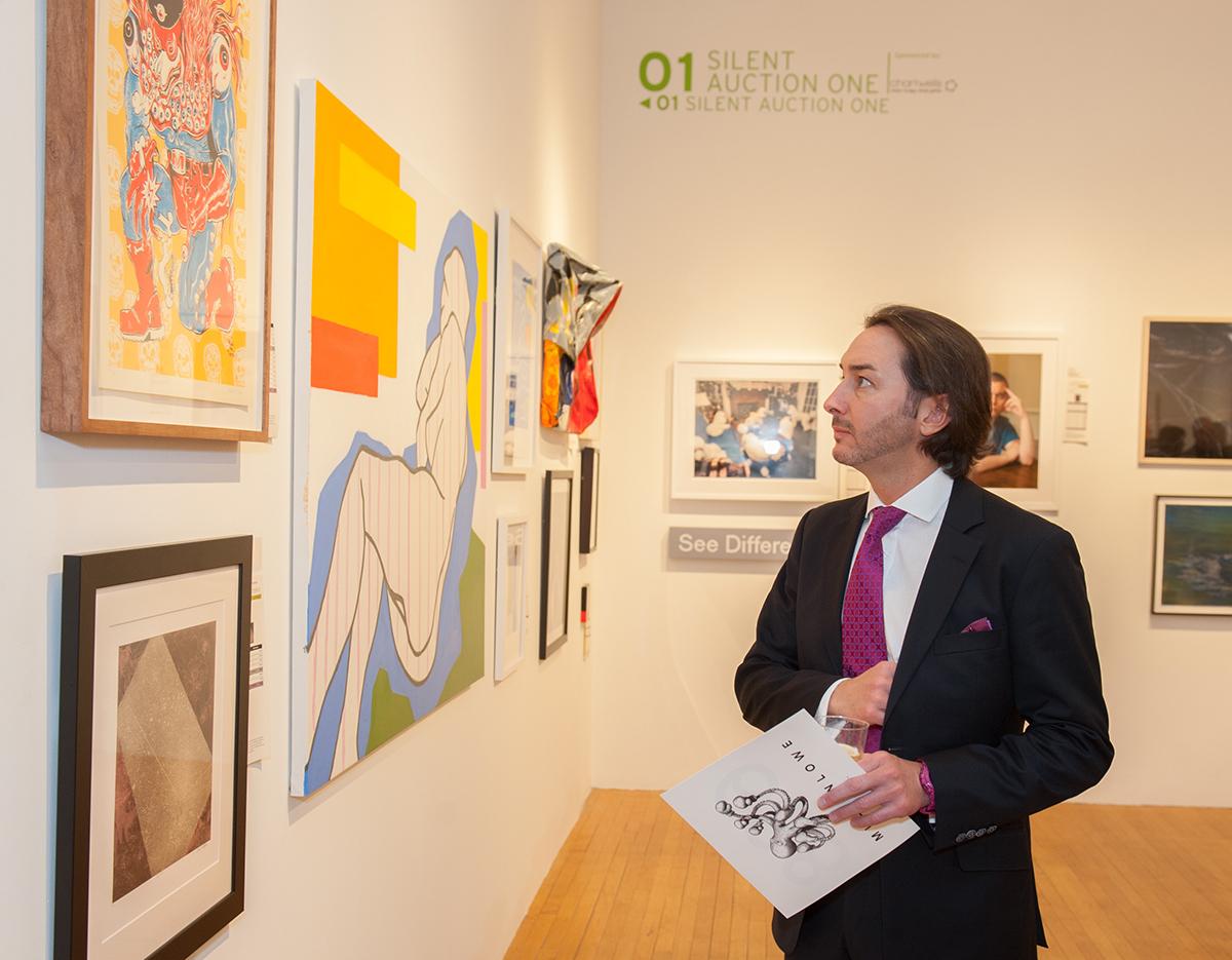 Paul Karger in the Galleries