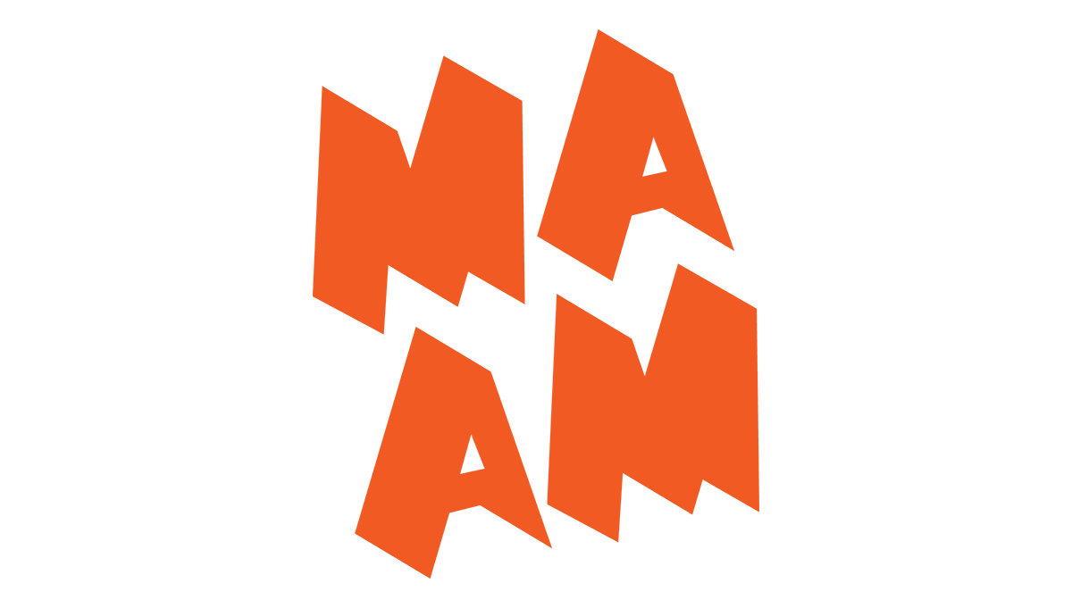 MassArt Art Museum Orange Logo