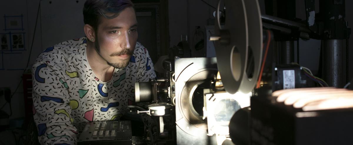 Film/Video student