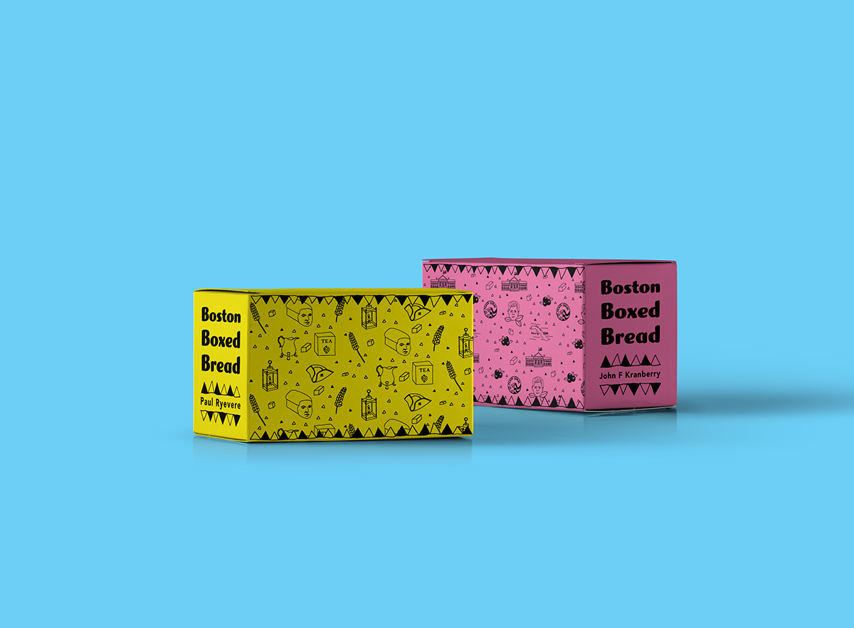 Hilary Bouvier - Boston Boxed Bread Packaging