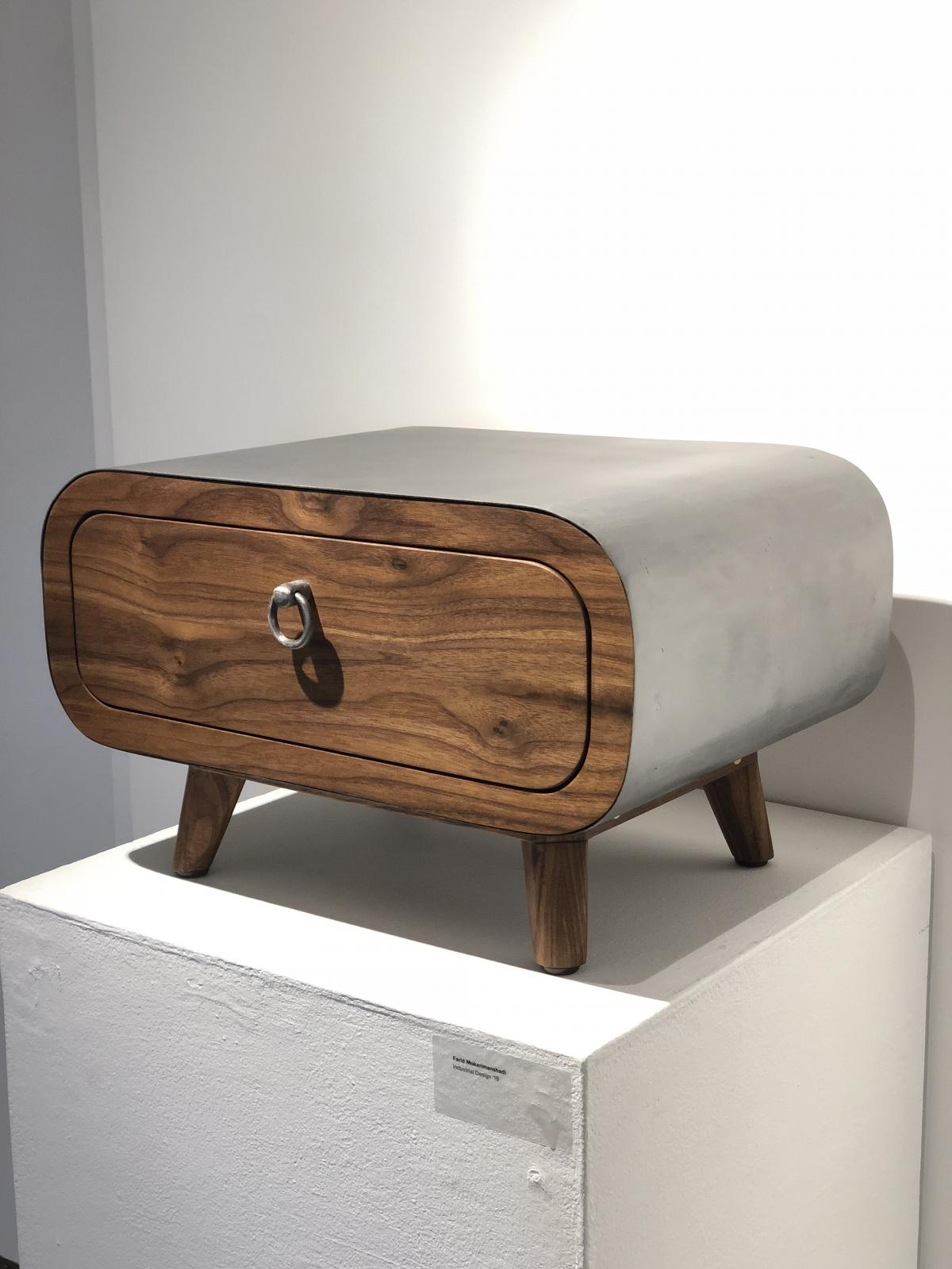 Sidebed Drawer by Farid Mokarimanshadi