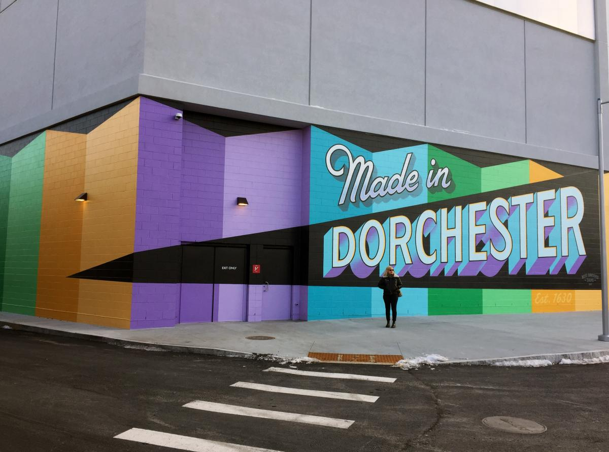 Dorchester Art Mural