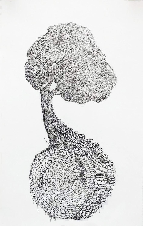 """Overgrown"" by Gemma Tacy-Burns"