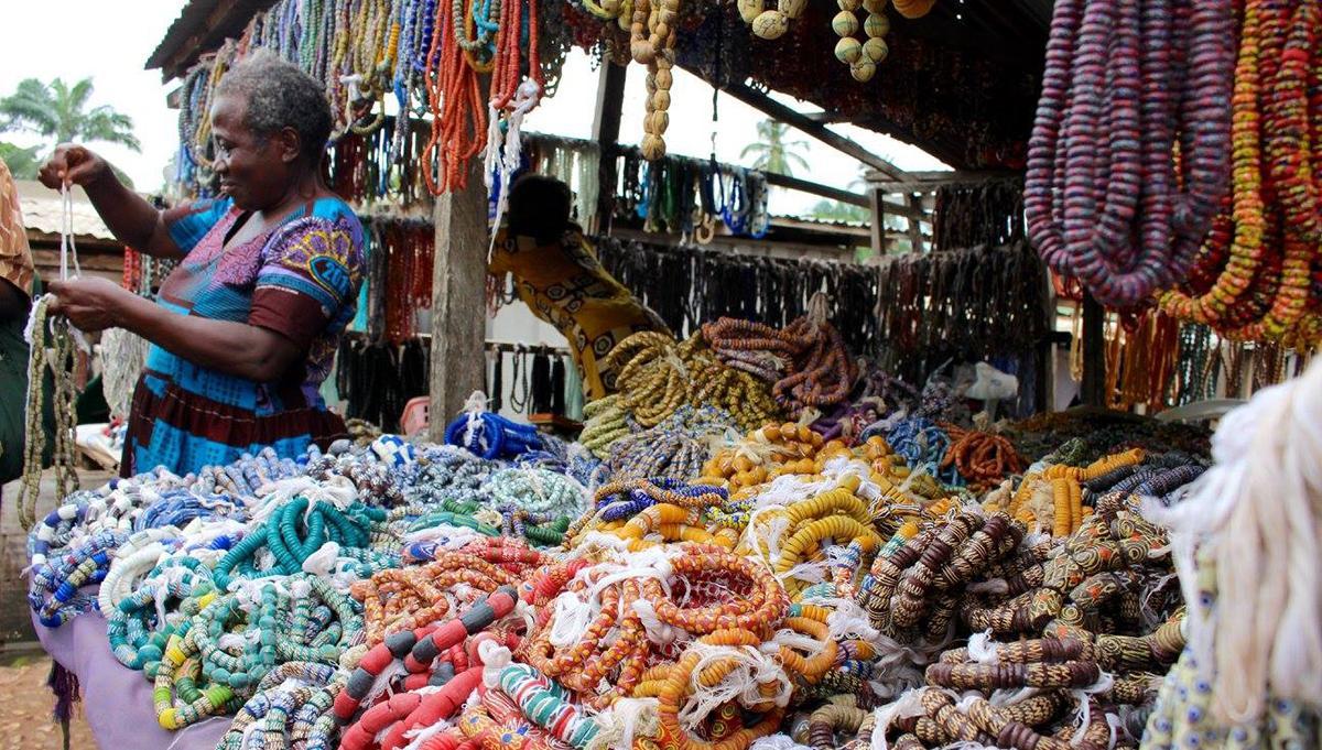 Beads in Ghana