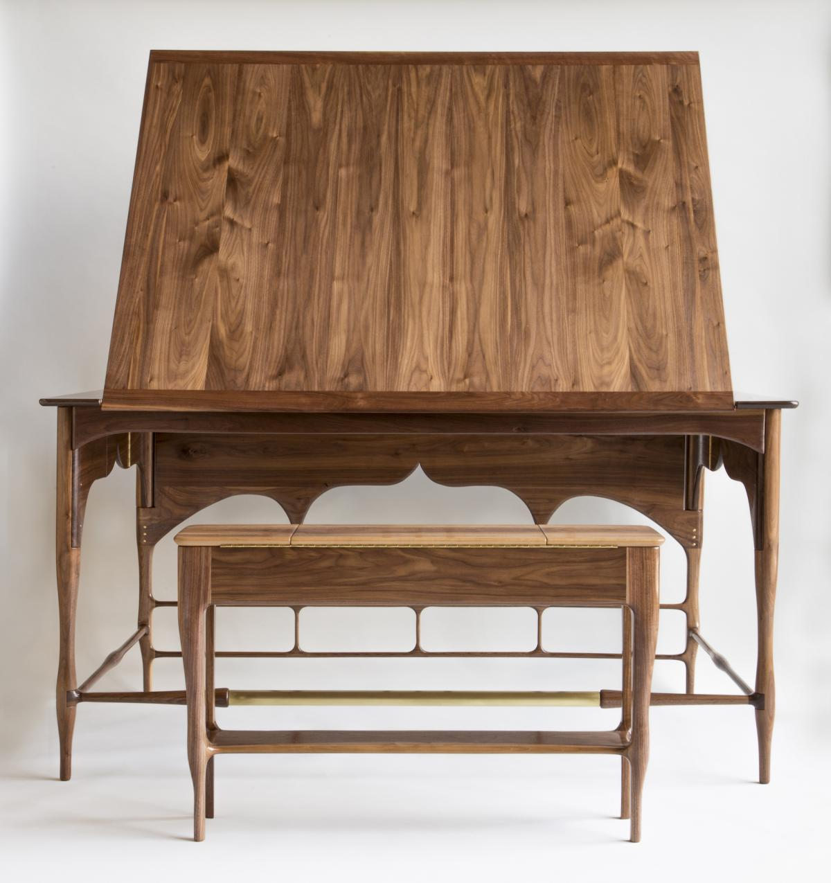 Drafting Table by Heather Dawson