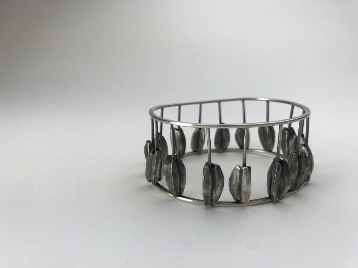 Kinetic Bracelet by Julia Gaitely