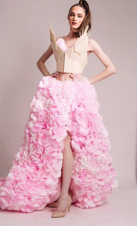 Non-textile garment