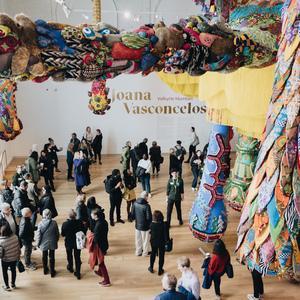 MassArt Art Museum - Valkyrie Mumbet Installation by Joanna Vasconcelos