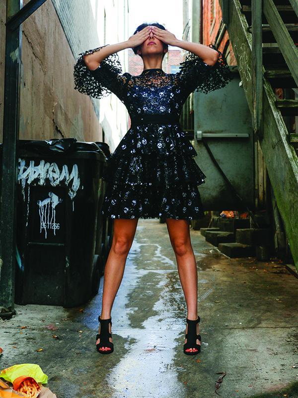 Consumption Dress by Mary Vando