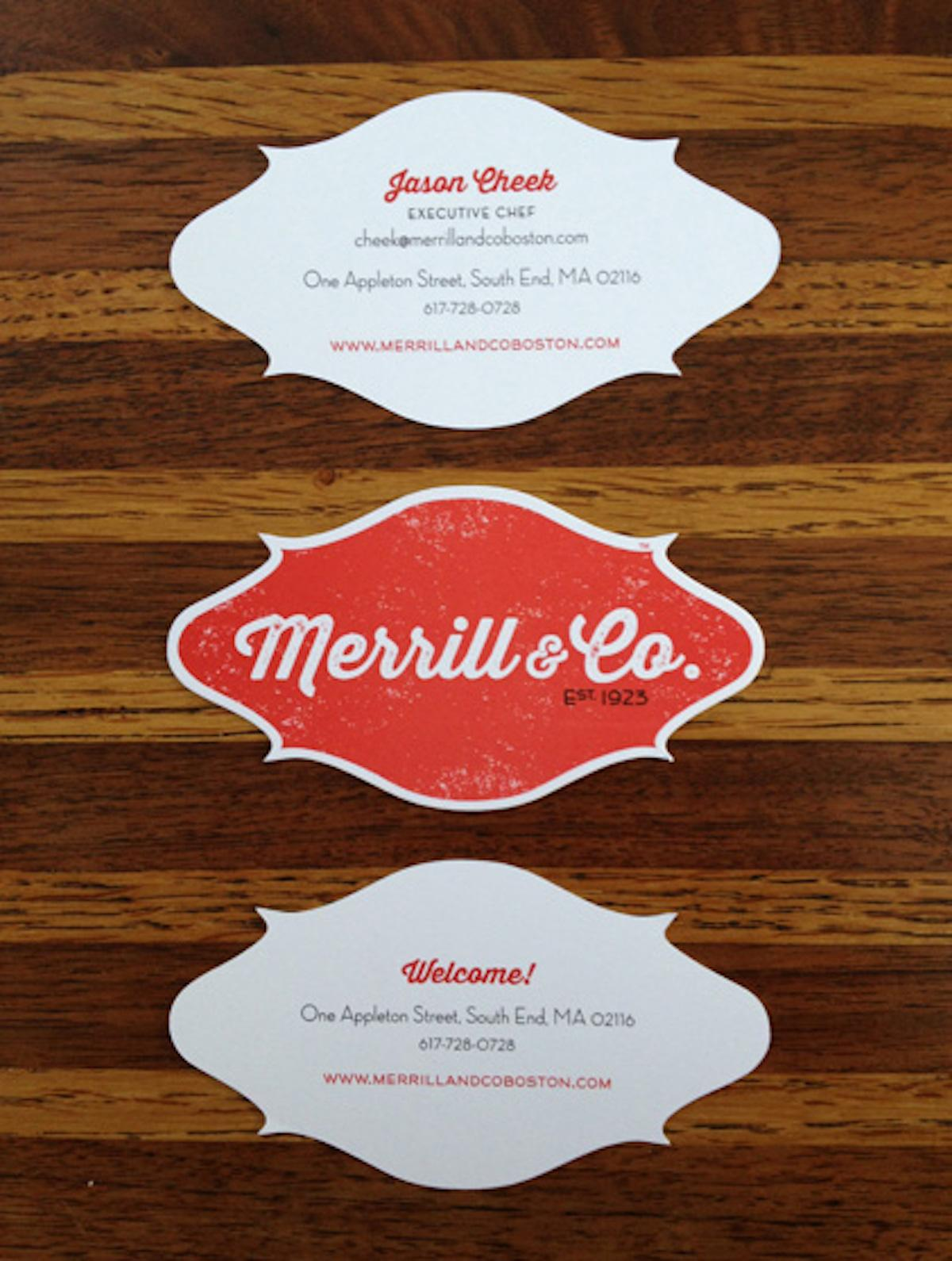 merrill co cards - Merrill Business Cards