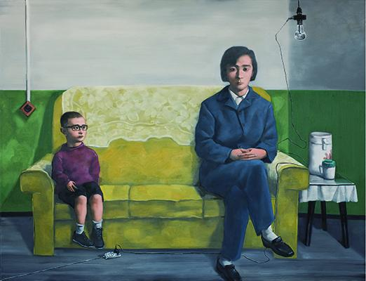 """My Mother"" by Zhang Xiaogang"