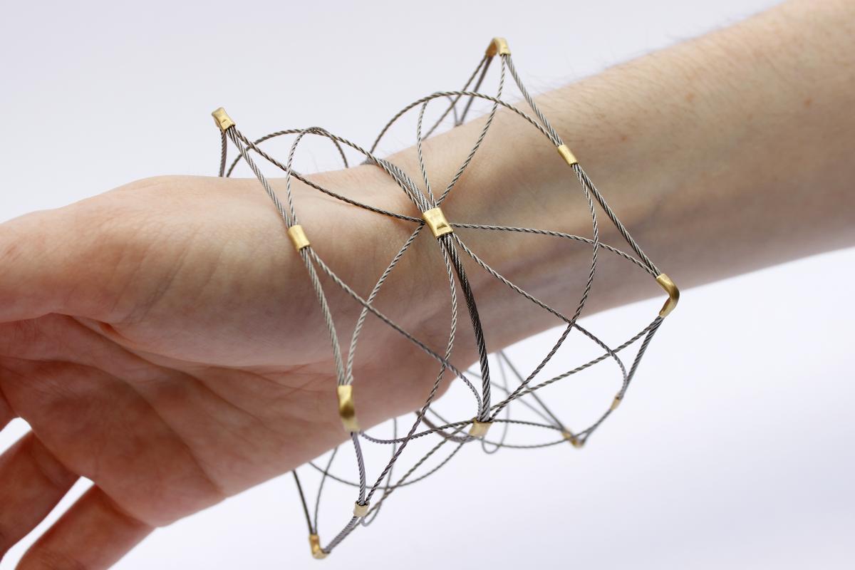 Wire Construction bracelet
