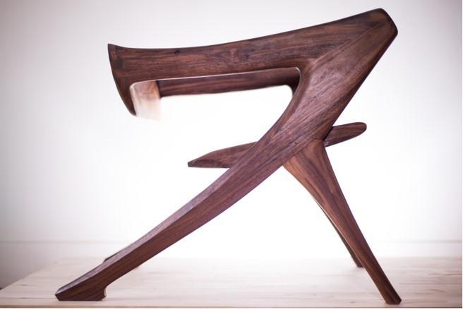 Kanji Chair by Curtis Turner