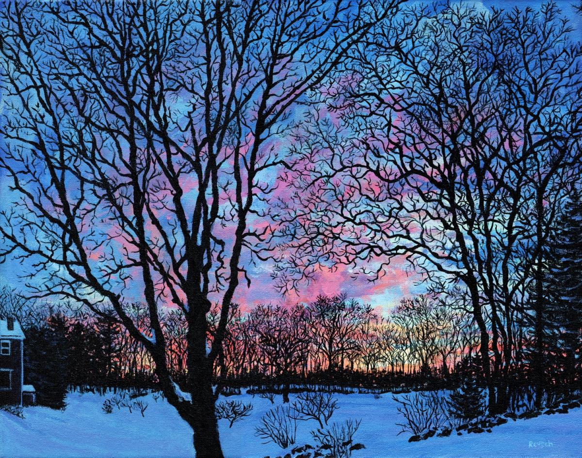 Winter Sunset by Mark Reusch