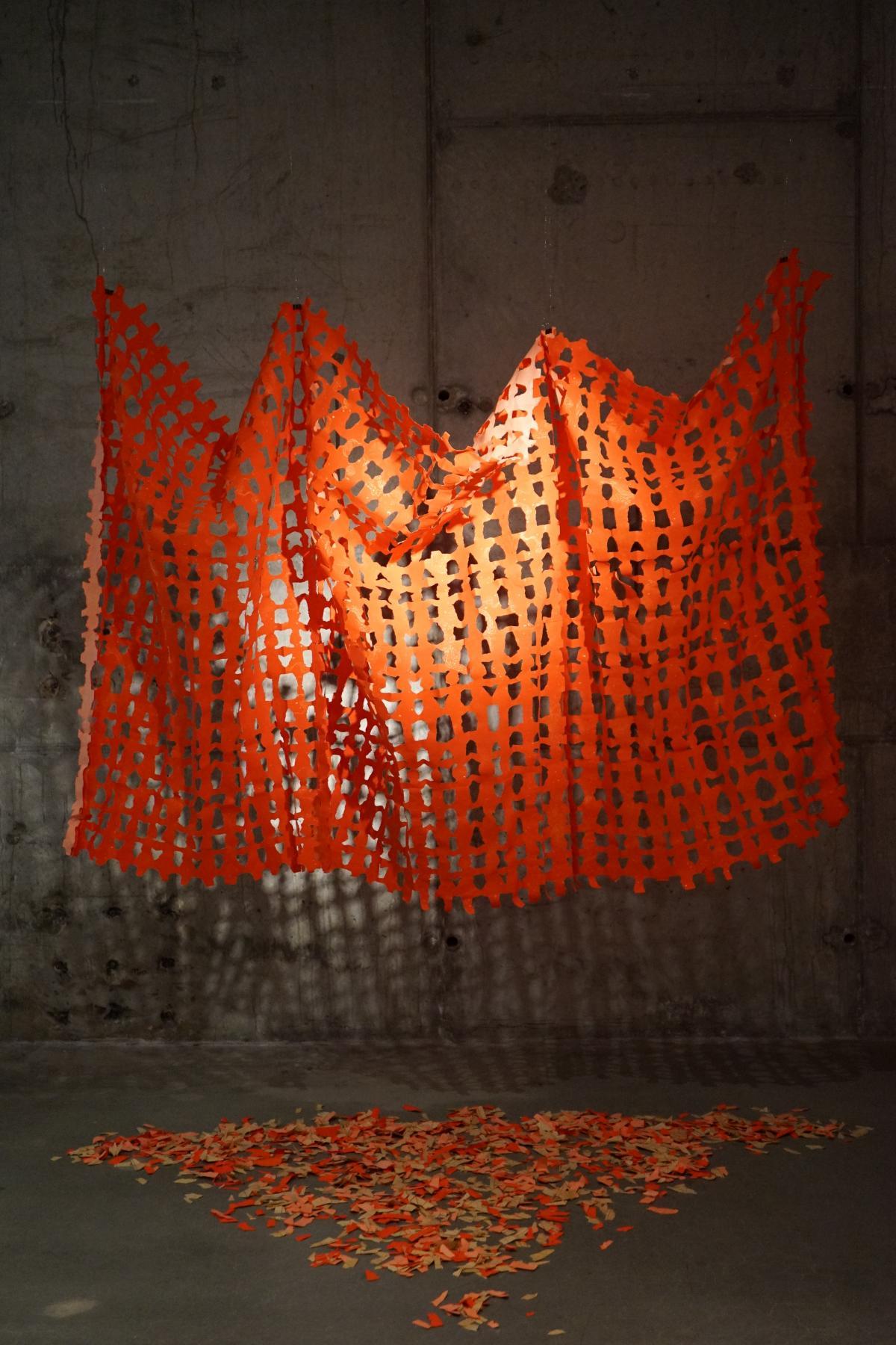"""""""Womb II"""" by Shuai Yang '20, BFA, Printmaking"""