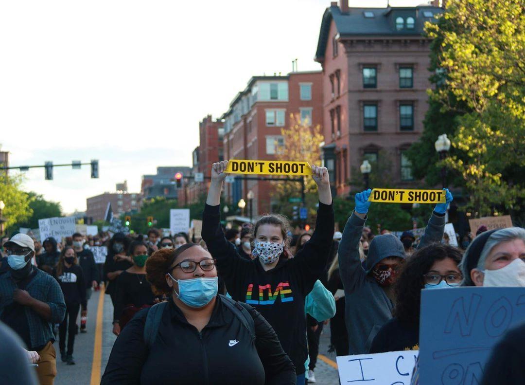 Boston Black Lives Matter Protest by Calder McCay