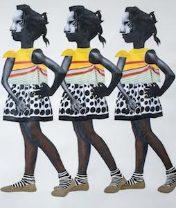 The Gaze by Deborah Roberts