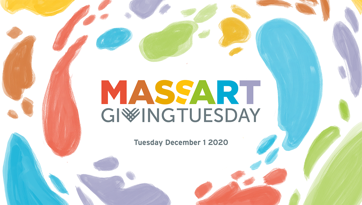 MassArt Giving Tuesday Graphic