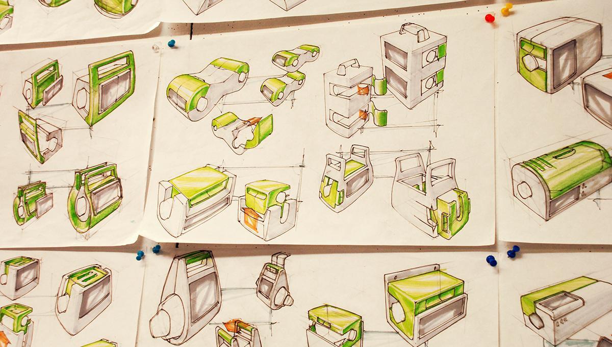 Industrial Design models