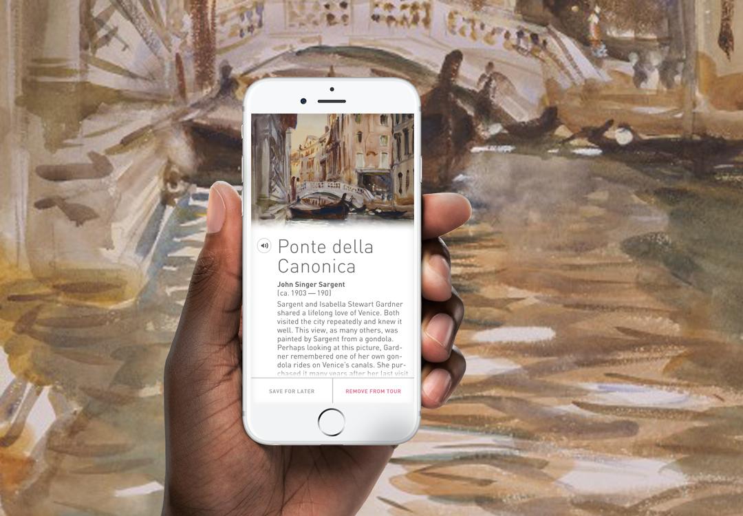 Isabella Stewart Gardner Museum App