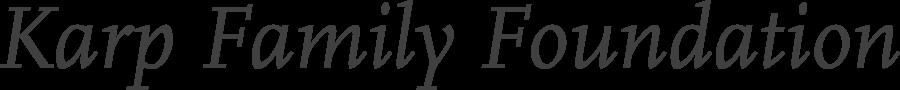 Karp Family Foundation