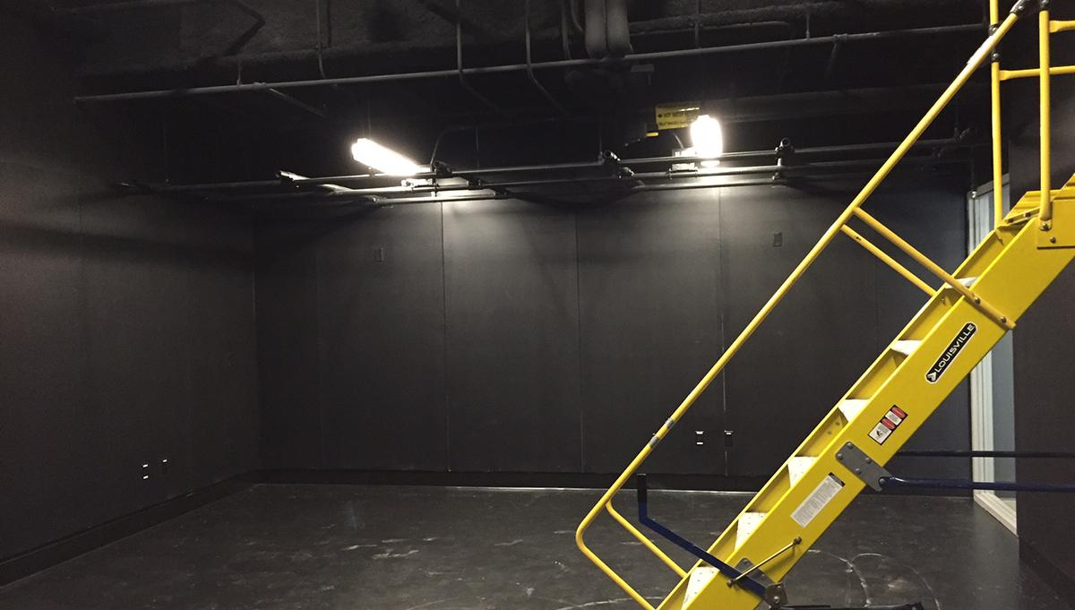 Lighting Install Room