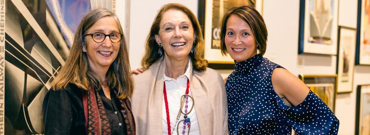 Laura McPhee, Hope Barkan, and Lisa Tung