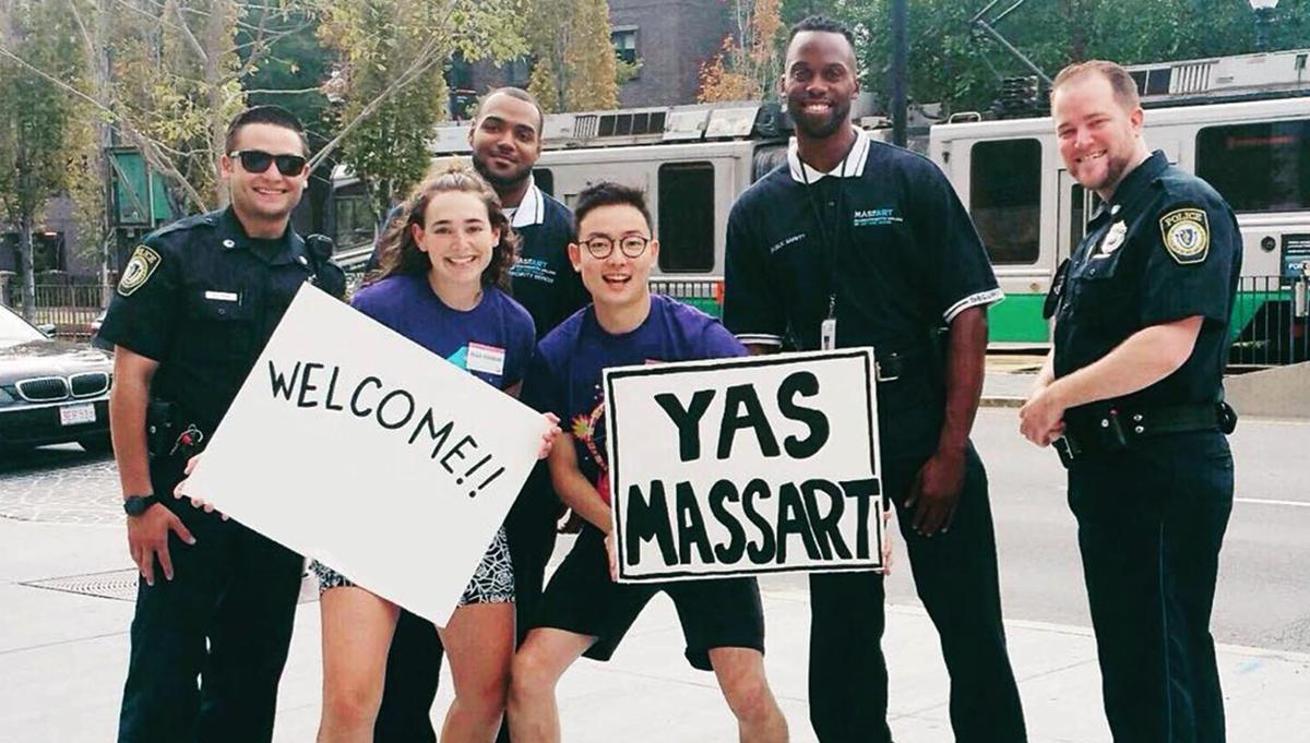 MassArt Police, Institutional Safety Officers, and Students