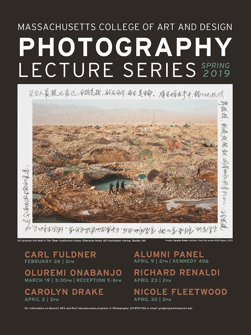 Spring 2019 Photo Lecture Series