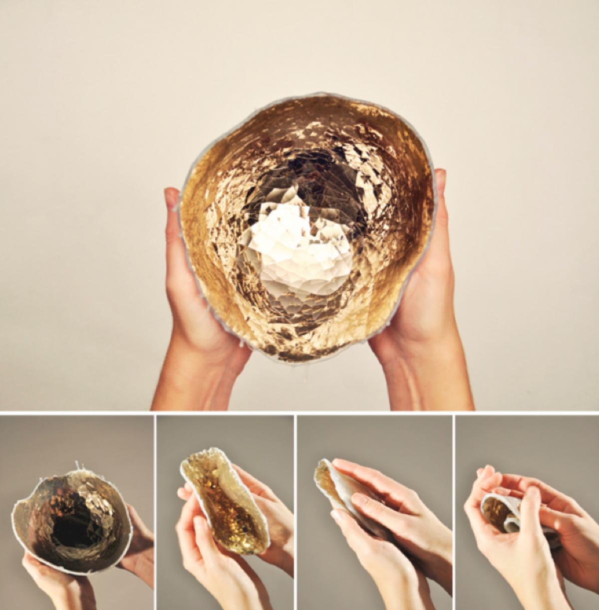 small quiver bowl (eggshell series) by Anjali Srinivasan