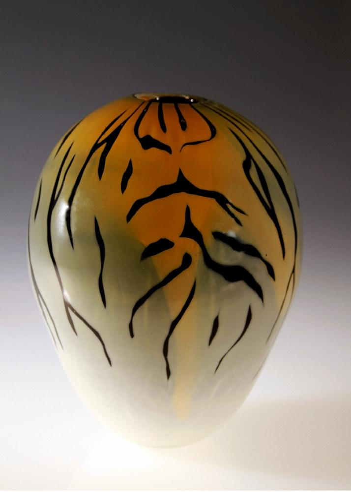Tiger Vase