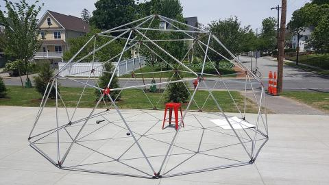 Paul Hackett Geodesic Dome