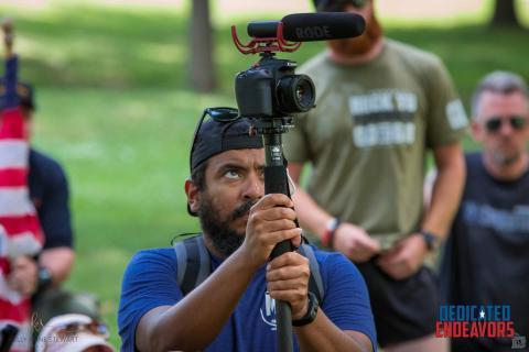 Henry Marte Filming