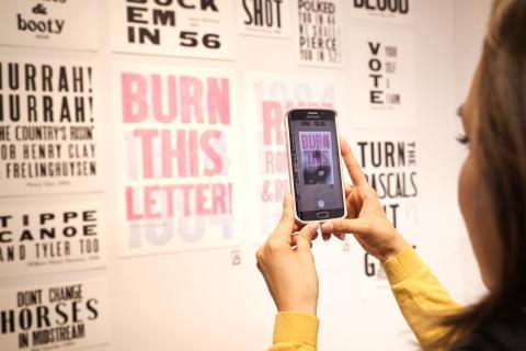 "Documentation of ""Pursuit of Happiness"" Bromfield Gallery, Boston MA, October 2018; Adjunct Instructor Sofie Hodara collaboration with Martha Rettig"