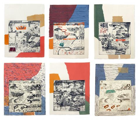 """Untitled (6 Iterations)"" by Ryan Crudgington"