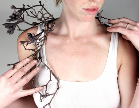 Harvest Neckpiece by Sasha Walsh