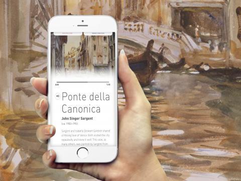 Found Art - Isabella Stewart Gardner Museum App Design