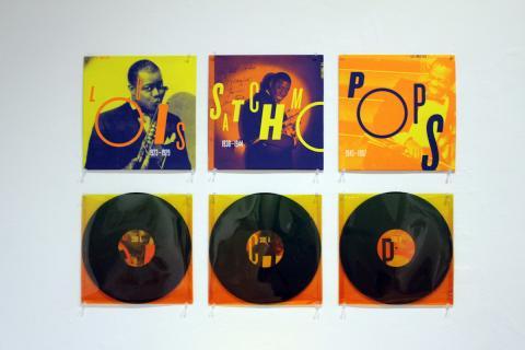 Louis Armstrong record box set