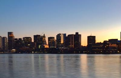 The City of Boston photographed by cell phone by Miguel Rincon