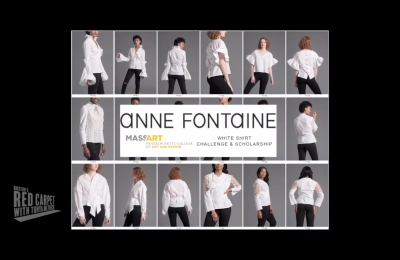 Anne Fontaine MassArt White Shirt Challenge and Scholarship